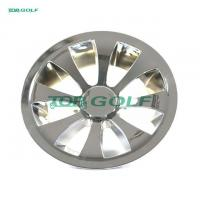 China 10 Turbine Golf Cart Wheel Covers Hub Caps Plastic Material Easy To Install on sale