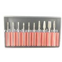 Buy cheap Tungsten Steel Dental Carbide Burs Lab Tooth 45mm Drill Bit 10 PCS / Set from wholesalers