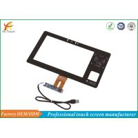 Buy cheap 10.1 Capacitive Touch Screen , Industrie Touch Panel Display 0.7mm ITO Glass product