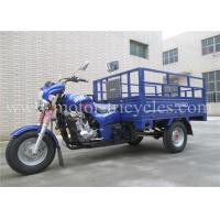 Buy cheap Air Cooled  Engine Motorized Cargo Trike , Tricycle 3 Wheel Motorcycle product