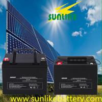 Buy cheap 12V200ah AGM Rechargeable Sealed Lead Acid Battery for Solar Power from wholesalers
