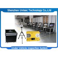 Buy cheap Indoor Moveable Mobile Vehicle Inspection System UVSS Linear Scan CCD OEM / ODM Available from wholesalers