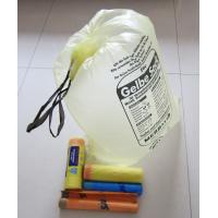 Buy cheap OEM Drawstring Garbage Bag On Roll Custom Printed Plastic Side Gusset Bags from wholesalers