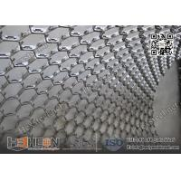 Buy cheap AISI410S Hexagonal Mesh Grating for Ducts and Flue Gas Lines | 10X1.0X45mm | China Exporter from wholesalers