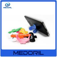 Buy cheap Wholesale high quality colorful silicone mobile security stand holder with logo from wholesalers