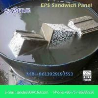 Buy cheap ISO 9001/CE approved fireproof polystyrene sandwich wall panel fiber cement material from wholesalers