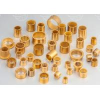 Buy cheap Low Noise Oil Impregnated Bronze Bushings Self Lubricating Bush Material from wholesalers