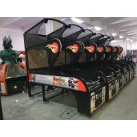 Buy cheap Professional Street Electric Arcade Basketball Game Machine with Metal Frame from wholesalers