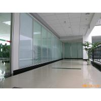 Buy cheap Acoustic Insulation Office Glass Partition Systems , Glass Bathroom Partition Walls from wholesalers