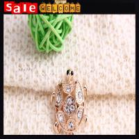 Buy cheap Animal Tortoise Brooches Pin ,Golden Turtle Brooch Badge Lapel Pins Dress Accessories from wholesalers