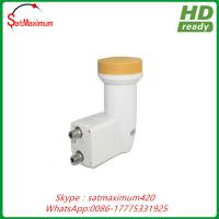 Buy cheap Circular Polarity 10.75GHZ Twin Dual Output Ku band LNBF for Russian from wholesalers