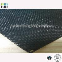 Buy cheap Black material  Polypropylene Woven Geotextile Stabilization Fabric Black Color UV Resistance from wholesalers