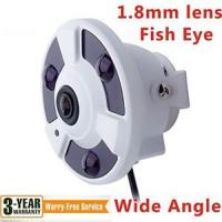 Buy cheap Fish Eye Wide Angle 120° 1.8mm Lens Highest Megapixel Camera HD 1920X1080 2MP from wholesalers
