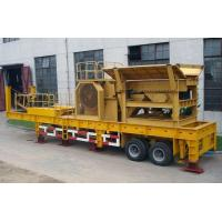 Buy cheap Mini Stone Mobile Jaw Crusher For Sale from wholesalers