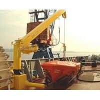 Buy cheap Marine Platform off-Shore Life Boat Davit Crane from wholesalers
