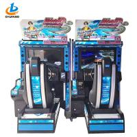 Buy cheap Electronic Simulator Car Racing Arcade Machine Coin Operated Acrylic Material from wholesalers