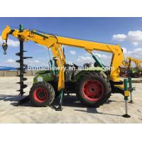 Buy cheap India pole erection machine piling machine tractor price from wholesalers