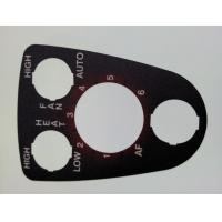 Buy cheap Flat Graphic Membrane Switch Overlay , PET or PC Membrane Sticker from wholesalers