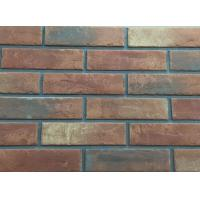 Acid Resistance Turned Color Interior Brick Wall Clay Material