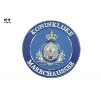Buy cheap Blue Custom Challenge Coins Army Using Double Plate With Shiny Nickel /  Fake Gold product