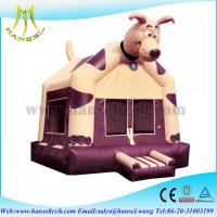 Buy cheap Hansel Car Theme Factory Bouncers Bounce House ,Inflatable dog Bouncy Castle For Sale from wholesalers