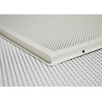 Buy cheap No Fading Metal Suspended Ceiling Tiles With Anti - Scratch Layer from wholesalers