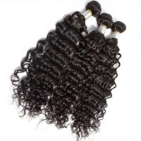 Buy cheap Brazilian 100% Unprocessed Virgin Human Hair Extensions Deep Wave Glossy from wholesalers