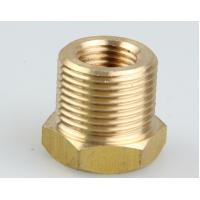 Buy cheap high quality OEM cnc maching brass parts reducing coupling brass connector from wholesalers