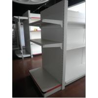 Buy cheap Metal two side supermarket gondola Shelving for sale from wholesalers