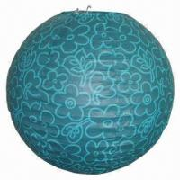 Buy cheap Elegant Paper Lantern Ball, Measures 6 to 36-inch, Available in Various Colors from wholesalers