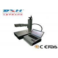 Buy cheap New Design Mini Laser Marker , Metal / Non Metal Laser Marking Machine 20-80KHZ from wholesalers