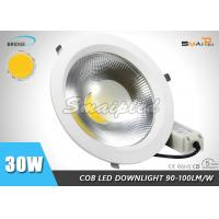 Buy cheap Dimmable 30W 110V Home LED Ceiling Downlight Fixtures With CE / ROHS from wholesalers