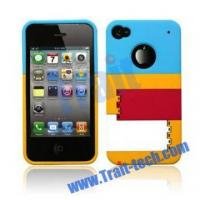 Buy cheap MONDRIAN Premium Hard Case for iPhone 4/iPhone 4S (Blue+Yellow+Red+White) from wholesalers