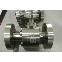 Buy cheap ASME B1.20.1  High Pressure Full Bore  Ball Valve API 608  ISO 5211 from wholesalers