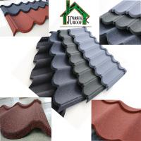 Buy cheap Customized Color Stone Coated Metal Roofing Sheets thickness 0.38-0.50mm from wholesalers