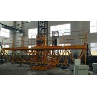 Buy cheap Person And Material Mast Climbing Work Platform 10m - 150m Length from Wholesalers