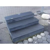 Buy cheap Black Slate Steps Slate Staircase Slate Stone Stairs Black Slate Risers Black Slate Stairs from wholesalers