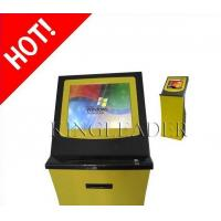 Buy cheap Booking Queuing Ticket Vending Kiosk With Finger Print Reader from wholesalers