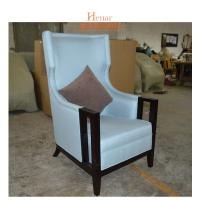 Buy cheap Modern Living Room Comfortable Hotel Lobby Chair With Fabric Foam Pad from wholesalers