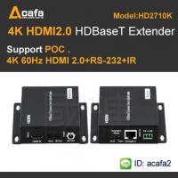Buy cheap HDBaseT Video  4K2K 60HZ UHD HDMI Extender  with POC/POE from wholesalers