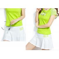 Buy cheap Elastic Waistband Womens Sport Skirts , Slim Fitting Womens Workout Skirts product