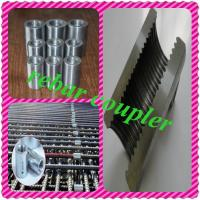 Buy cheap splicing sleeve rebar threaded coupler used to connect reinforced steel bar from wholesalers