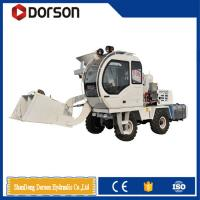 Buy cheap 4 cbm mobile self loader concrete mixer with cheap price on sale from wholesalers
