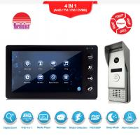 Buy cheap Manufacturer of video intercom System TV out connect with DVR AHD video door bell from wholesalers