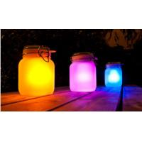 Buy cheap Frosted Glass Landscape Solar Lights Outdoor Jam Jar Solar Lights For Decorative from wholesalers