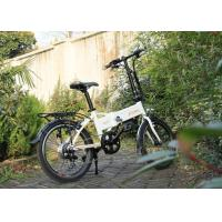 Buy cheap Folding Step Through Electric Bikes Bicycle Hidden Battery 36v 9a With Front V Brake from wholesalers