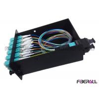 Buy cheap 96 Fibers MPO Fiber Patch Panel With MPO Cassette For MPO - LC Optical Patch Cord from wholesalers