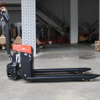 China Small Electric Pallet Truck 1500kg 12v / 210ah Battery Operated Smart Body on sale