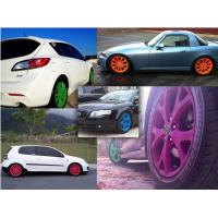 Buy cheap High Gloss Auto Spray Paint / Red Rubber Car Paint Spray Can Impact Resistance from wholesalers