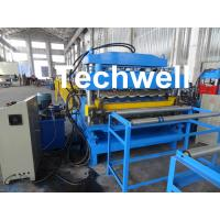 Buy cheap Steel Double Layer Roof Roll Forming Machine / Roofing Sheet Roll Forming Machine from wholesalers